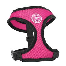 Gooby Soft Mesh Dog Harness - Flamingo Pink