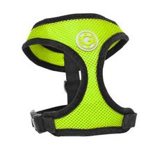 Gooby Soft Mesh Dog Harness - Lime