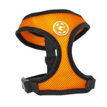 Gooby Soft Mesh Dog Harness - Orange
