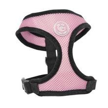 Gooby Soft Mesh Dog Harness - Pink