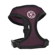 Gooby Soft Mesh Dog Harness - Purple