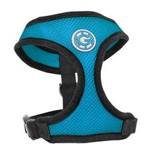 Gooby Soft Mesh Dog Harness - Sea Blue