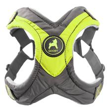 Gooby Trekking Step-in Memory Foam Dog Harness - Lime Green