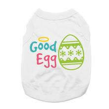 Good Egg Dog Shirt - White