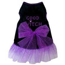 Good Witch Tank Dog Dress - Black
