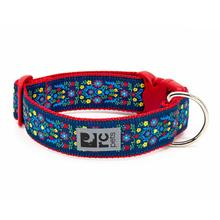 Feeling Folksy Wide Clip Adjustable Dog Collar