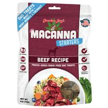 Grandma Lucy's Macanna Starters Freeze Dried Dog Treat - Beef Recipe