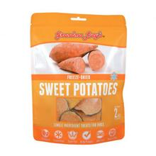 Grandma Lucy's Singles Freeze Dried Sweet Potatoes Cat & Dog Treats