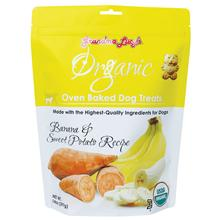 Grandma Lucy's Organic Oven Baked Dog Treat - Banana & Sweet Potato