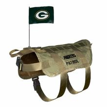 Green Bay Packers Tactical Vest Dog Harness
