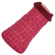 Pink Tweed Dog Coat by Up Country