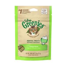 Greenies Feline Dental Cat Treats - Catnip Flavor