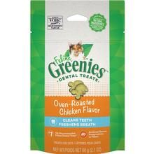 Greenies Feline Dental Cat Treats - Oven-Roasted Chicken Flavor