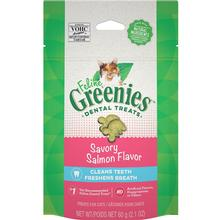 Greenies Feline Dental Cat Treats - Savory Salmon Flavor