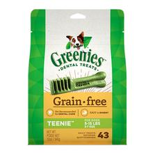 Greenies Grain Free Dental Dog Chews - Teenie Dog Size