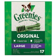 Greenies Original Dental Dog Chews - Large Dog Size