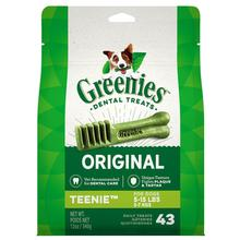 Greenies Original Dental Dog Chews - Teenie Dog Size