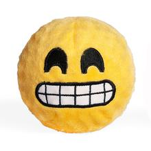 Emoji Faballs Dog Toy - Grinning