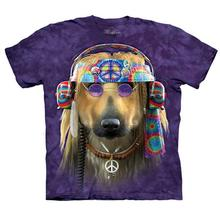 Groovy Dog - Human T-Shirt by The Mountain