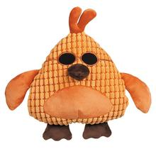 Grriggles Corduroy Cool Dudes Dog Toy - Orange Rooster