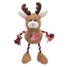 Grriggles Frontier Friends Dog Toy - Jackalope