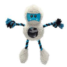Grriggles Frontier Friends Dog Toy - Yeti