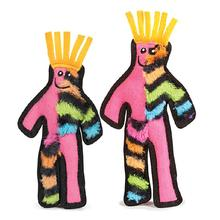Grriggles Funky Fellas Dog Toy - Pink