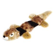Grriggles Fuzzy Squeak Dog Toy - Chipmunk
