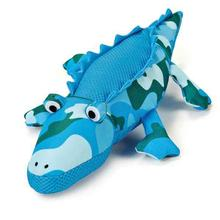 Grriggles Giant Camo Dog Toy - Blue Alligator