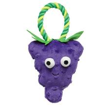 Grriggles Happy Fruit Rope Tug Dog Toy - Grapes