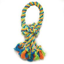 Grriggles Mighty Bright Rope Dog Toy - Loops