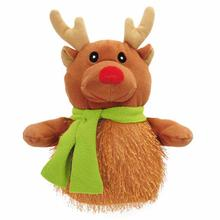Grriggles North Pole Shaggle Dog Toy - Reindeer