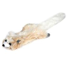Grriggles Northwoods Unstuffies Dog Toy - Arctic Fox