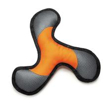 Grriggles Ruff 'N' Tuffstructable Whirleez Dog Toy - Orange
