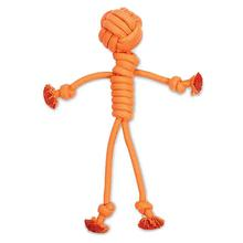 Grriggles Ruff Rope Tug Man Dog Toy