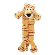 Grriggles Safari Squeaktacular Dog Toy - Tiger