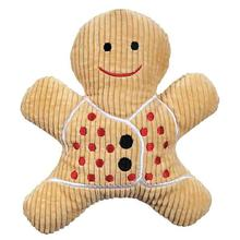 Grriggles Scented Gingerbread Man Dog Toy - Light Brown