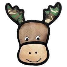 Grriggles Toughstructables Camo Crew Dog Toy - Moose