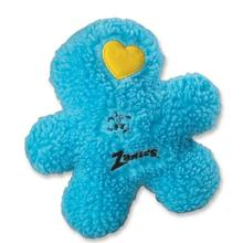 Zanies Embroidered Berber Boys Dog Toy - Blue