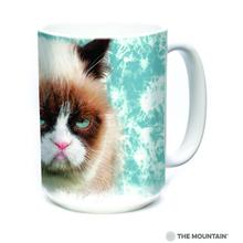 Grumpy Cat Ceramic Mug by The Mountain