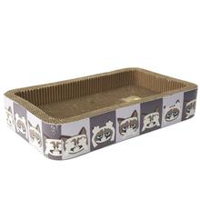 Grumpy Cat Hear/See/Speak No Evil Cat Scratcher