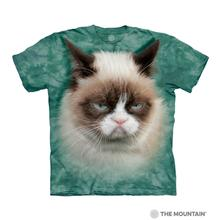 Grumpy Cat Human T-Shirt by The Mountain