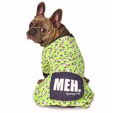 Grumpy Cat Meh Dog Pajamas - Green