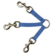 Guardian Gear 3-Way Coupler Dog Leash - Blue