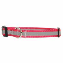 Guardian Gear Brite Reflective Dog Collar - Raspberry