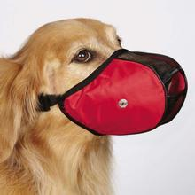 Guardian Gear Fabric Mesh Dog Muzzles - Red
