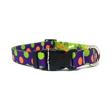 Halloween Mix Polka Dot Dog Collar by Yellow Dog