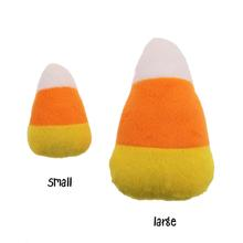 Halloween Plush Candy Corn Dog Toy