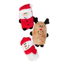 Holiday Squeakie Buddie Dog Toy