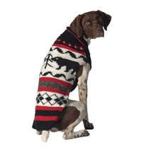 Handmade Black Bear Wool Dog Sweater